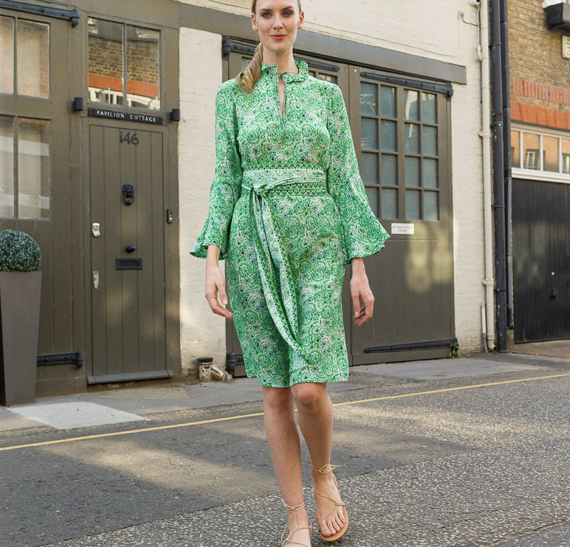Anne Dress – Green Canopy