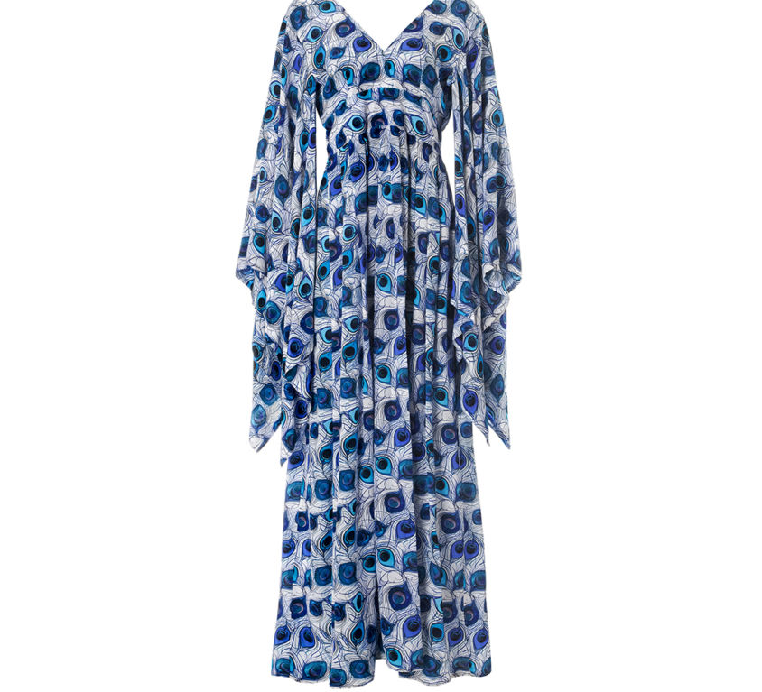 Candace Dress – Blue Feather Parade