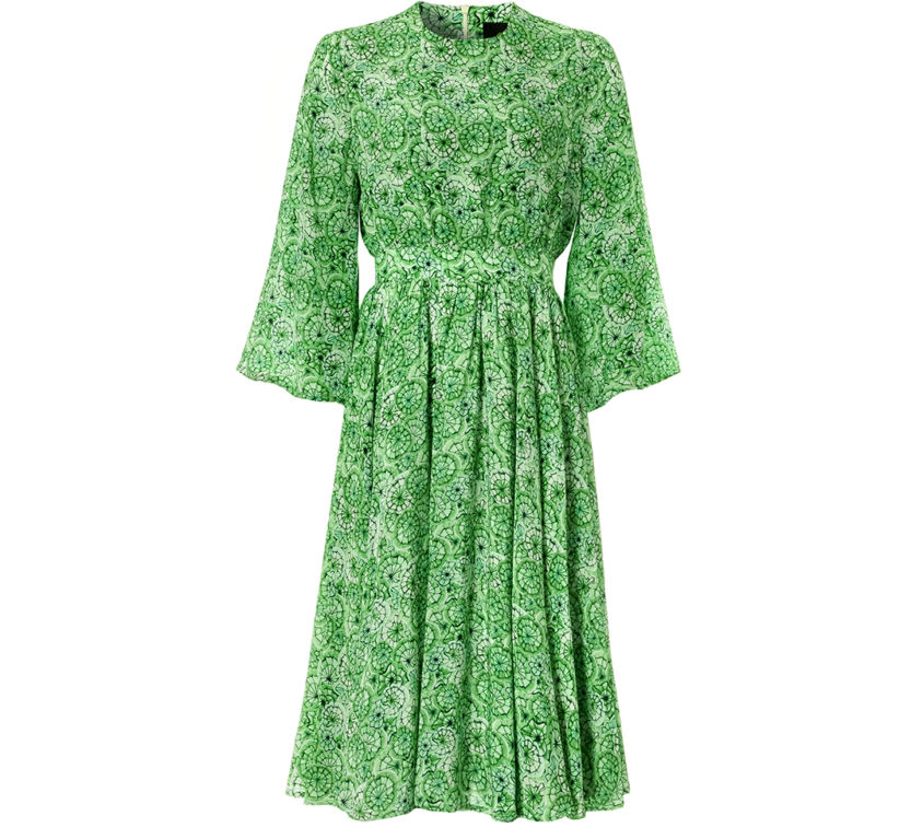 Kate Dress – Green Canopy