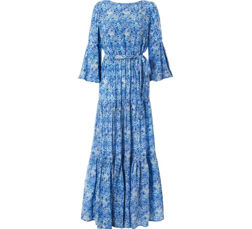 Mimi Dress – Blue Canopy