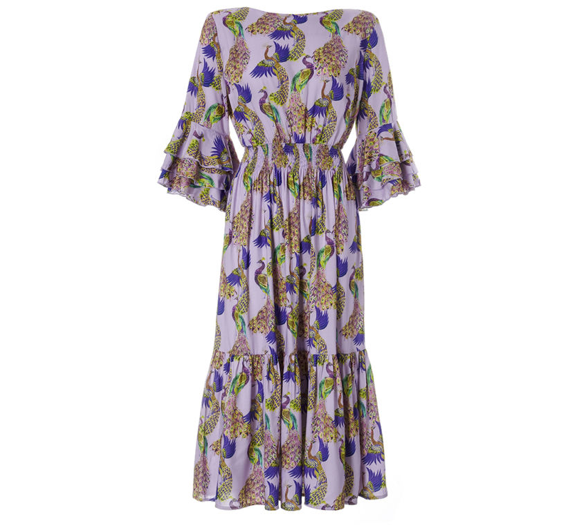 Nadja Dress – Violet Peacocks