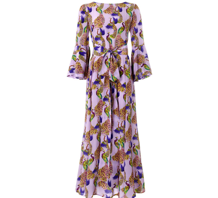 Sophia Dress – Violet Peacocks